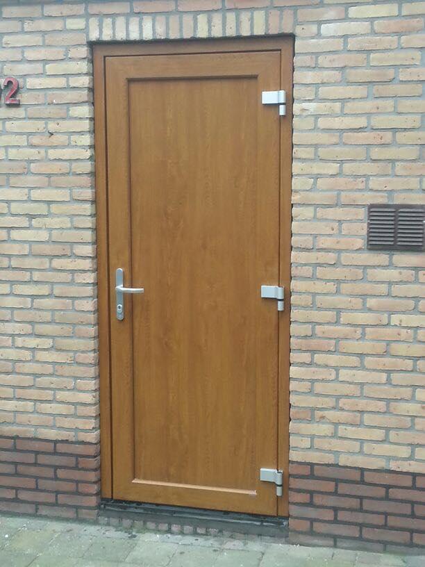 Gayko schuurdeur en voordeur gemonteerd te Amsterdam!