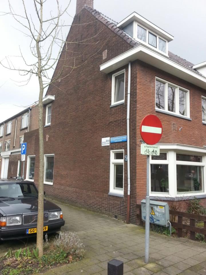 Knipping kozijnen en erker gemonteerd in een mooi oud huis te Utrecht!