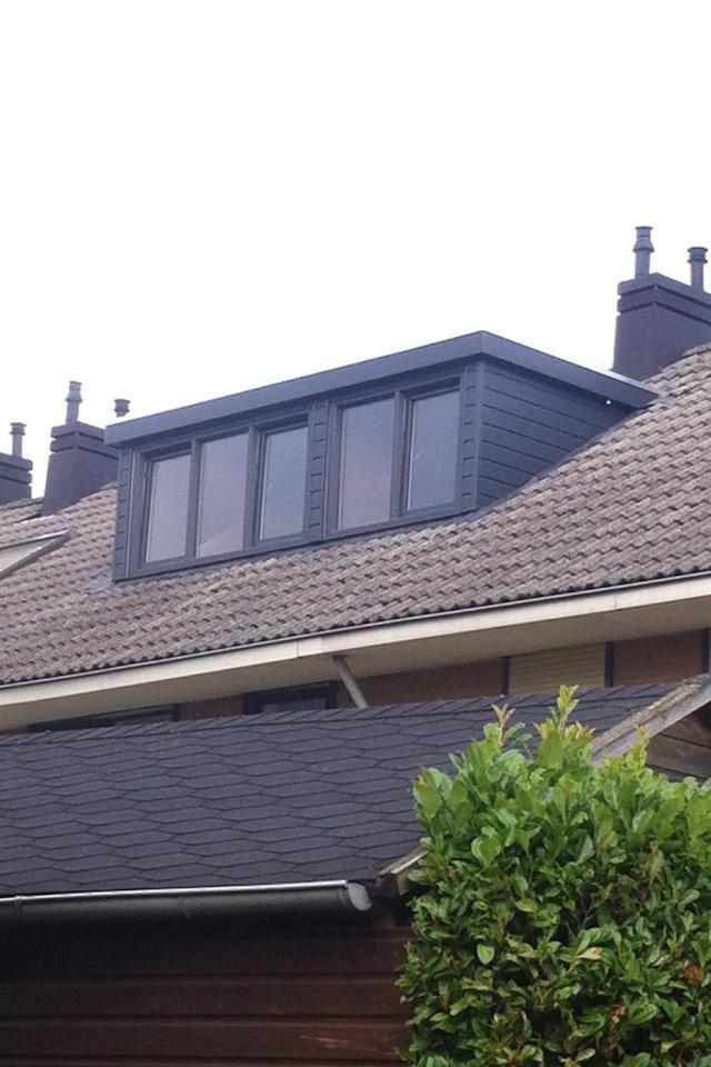 Keralit dakkapel gemonteerd te Wijchen.