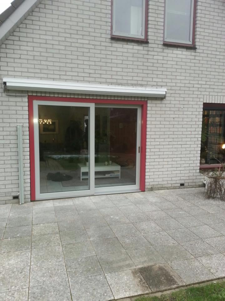 Knipping hefschuifpui gemonteerd te Nieuwegein!