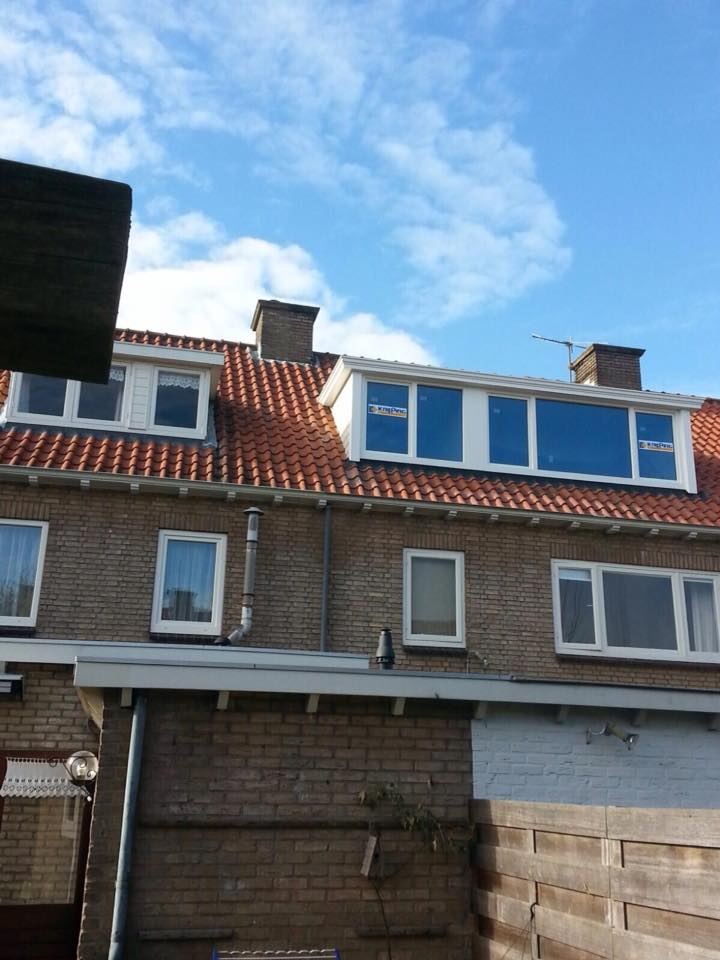 Door mond tot mond reclame inmiddels de derde dakkapel in deze straat te Bunnik gemonteerd!