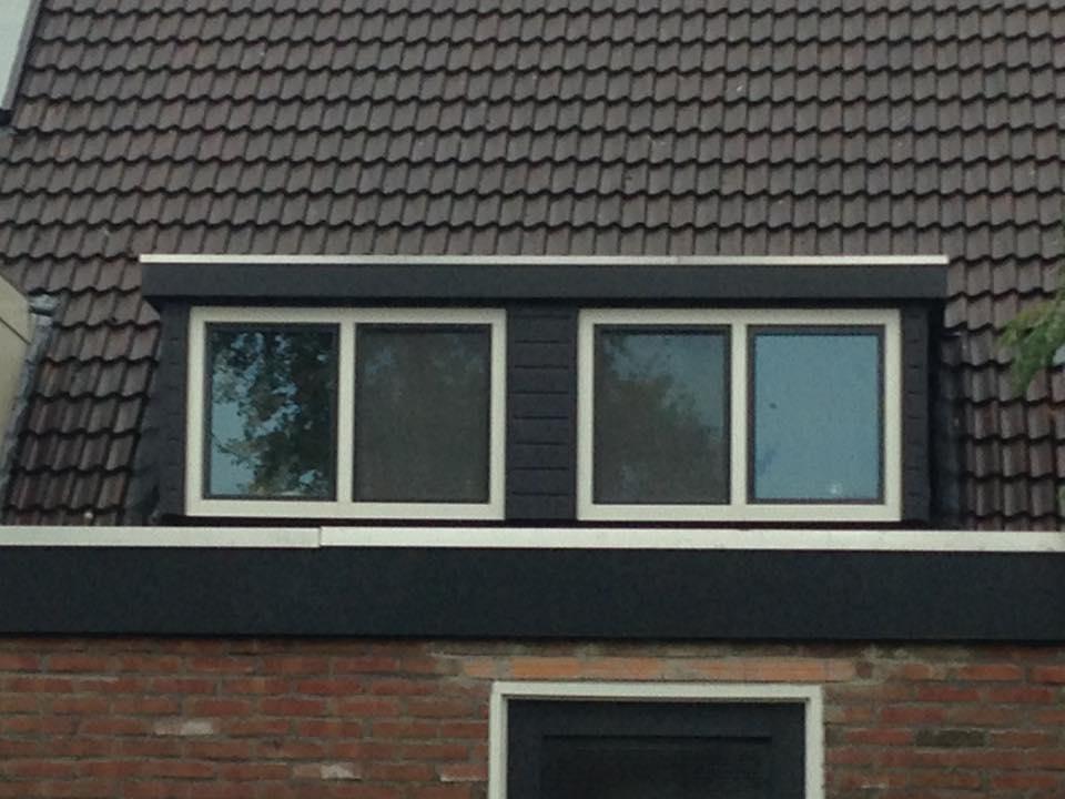 Onderhoudsvrije traditionele dakkapel geplaatst te Zeist!