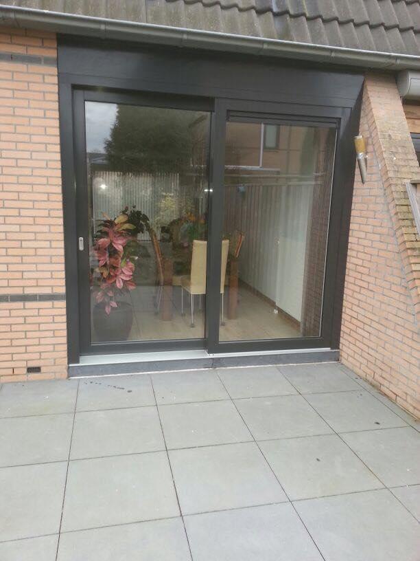 Knipping voordeur, hefschuifpui en achterdeuren gemonteerd te Wijk bij Duurstede!