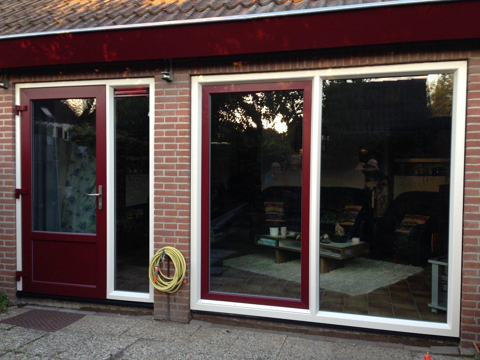 Kunststof Gayko kozijnen gemonteerd te Werkhoven