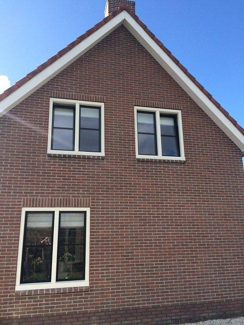 Onderhoudsvrije Knipping Classic kozijnen en deuren gemonteerd te Benschop.