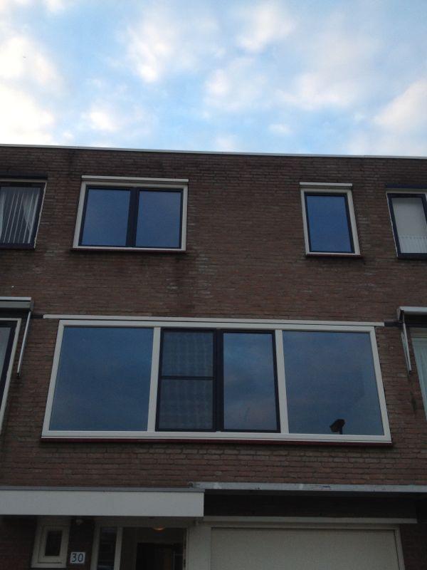 Kunststof kozijnen en openslaande deuren geplaatst te Utrecht.