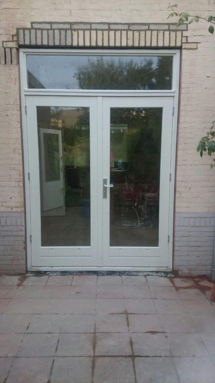 Houten openslaande deuren geplaatst te Nijmegen