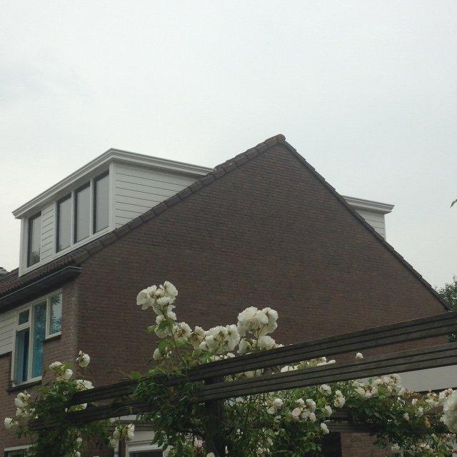 Twee super mooie onderhoudsvrije Prolux dakkapellen geplaatst te Houten.
